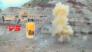 Tracking Point M600 5.56 Rifle vs Sonic Boom 2lb Target