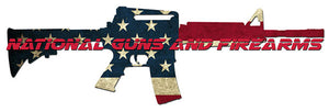 National Guns Firearms Logo