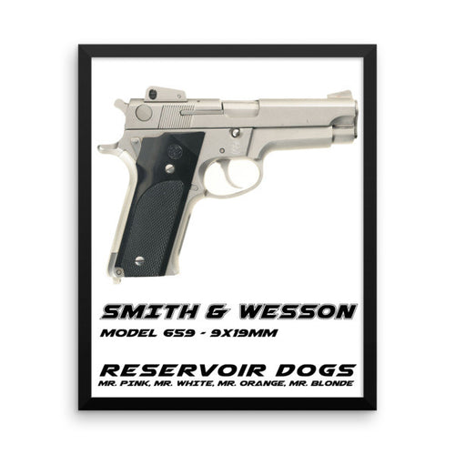 Smith and Wesson Model 659 9mm Reservoir Dogs - Print