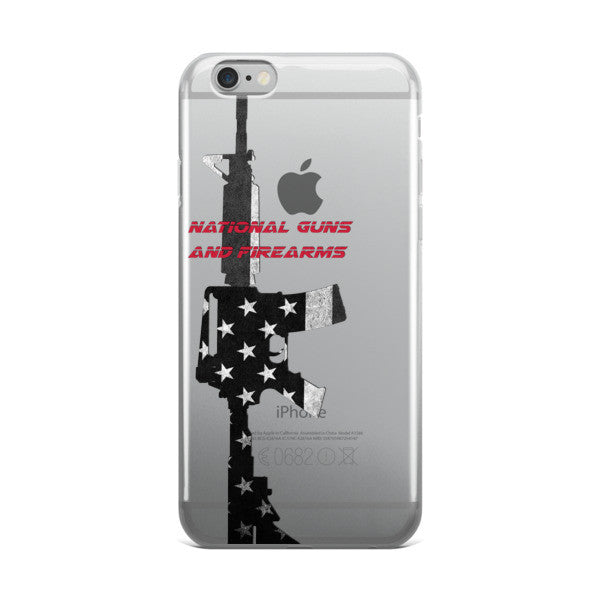 M16/ AR15 Apple iPhone Case