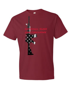 National Guns & Firearms - M16/AR15 T-Shirt