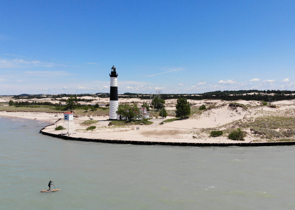Paddling Big Sable Point Lighthouse