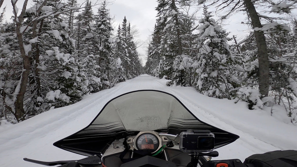 UP Snowmobiling Trails