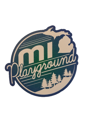 mi playground Hiawatha sticker