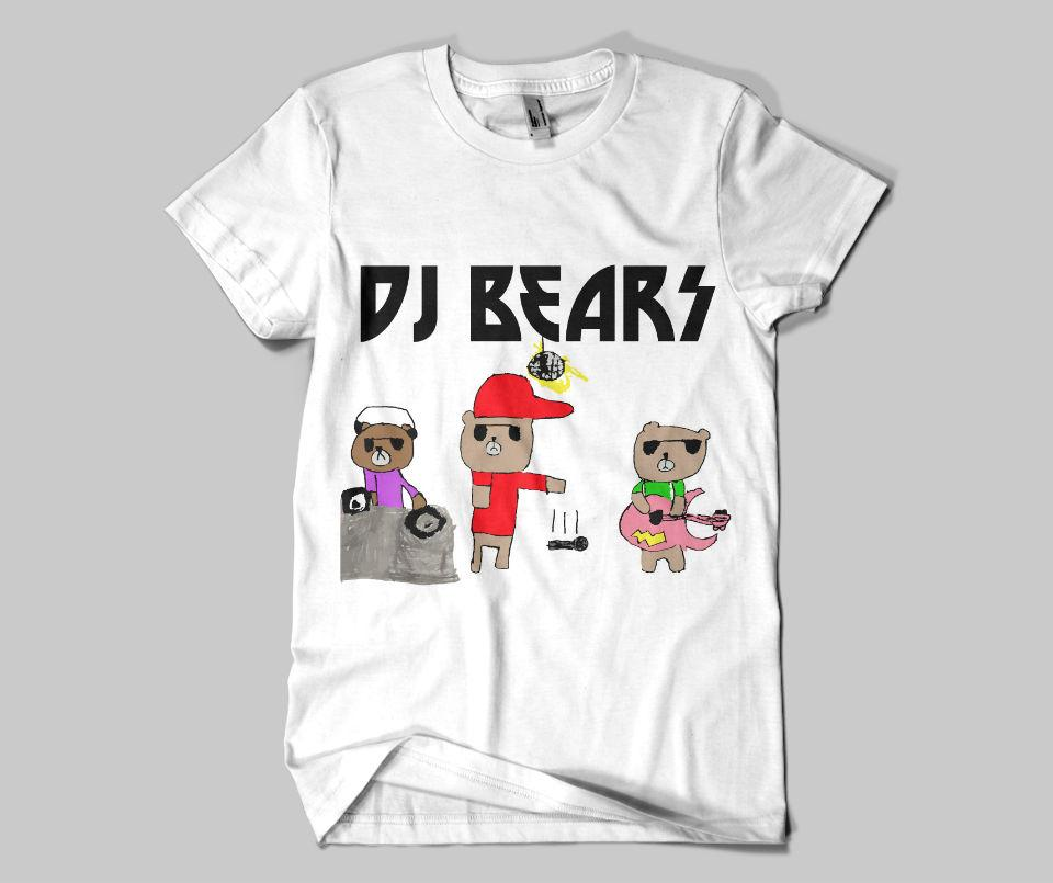 Kids DJ Bears Tee
