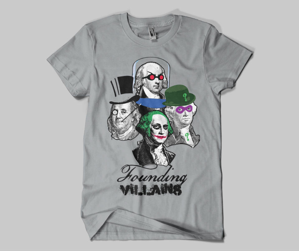 Founding Villains  Tee