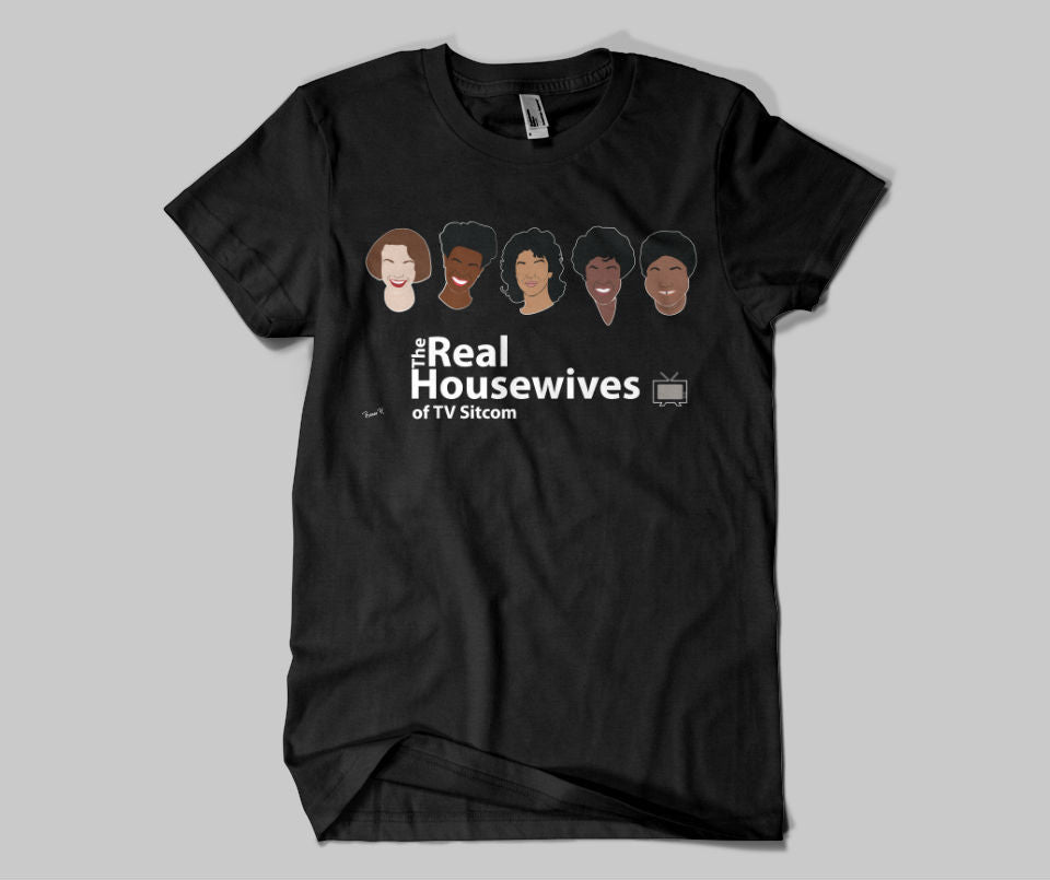 Real Housewives of TV Sitcom Tee