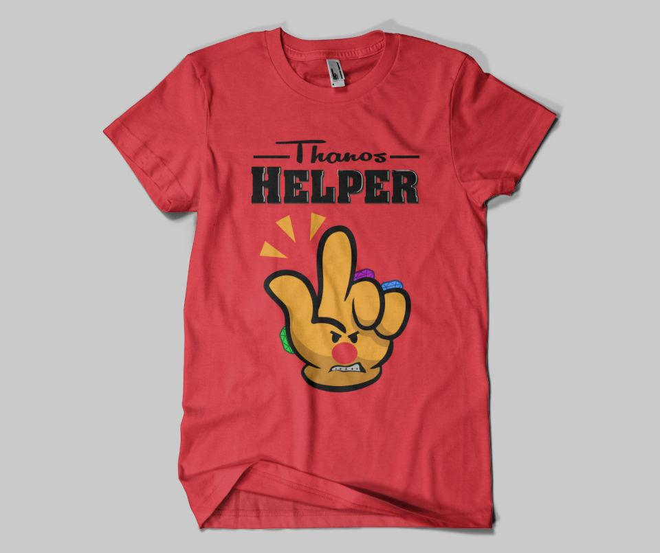 Thanos Helper Tee