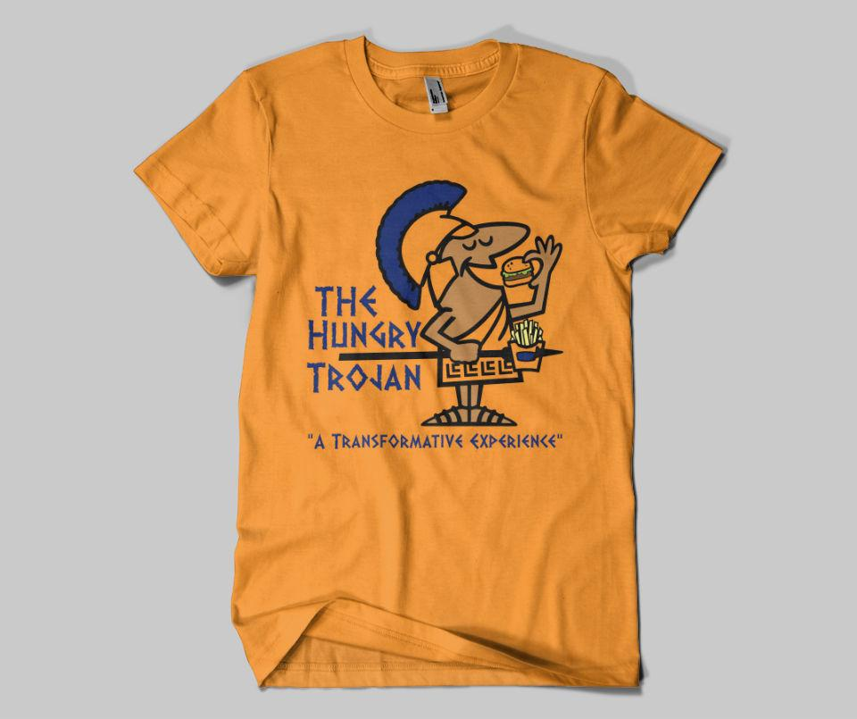 The Hungry Trojan Tee