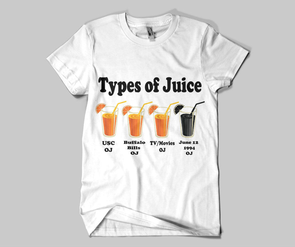 Types of Juice Tee