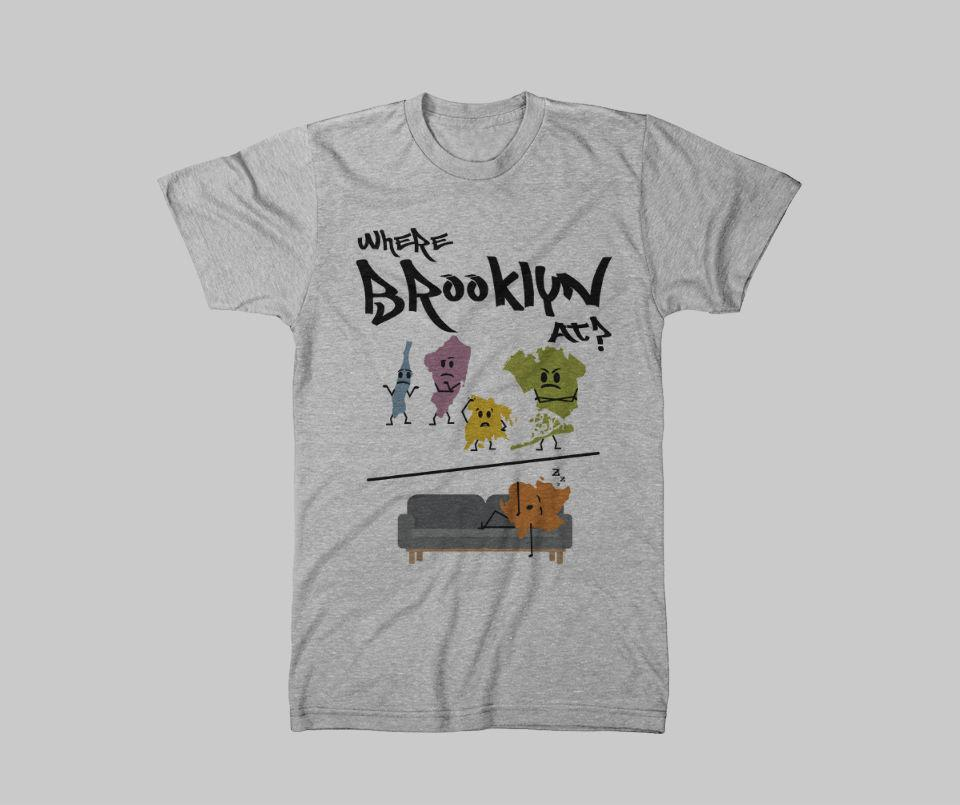 Where Brooklyn At  Tee