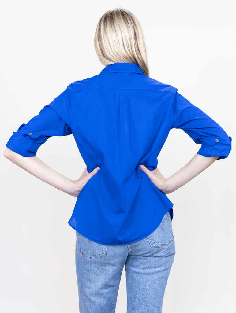 Boyfriend Shirt Dodger Blue