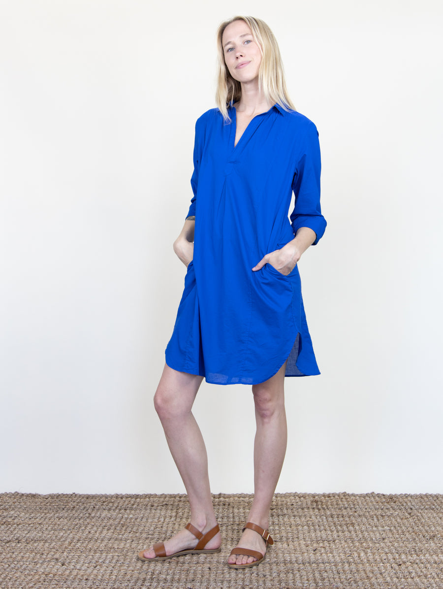 Holly Dress Dodger Blue