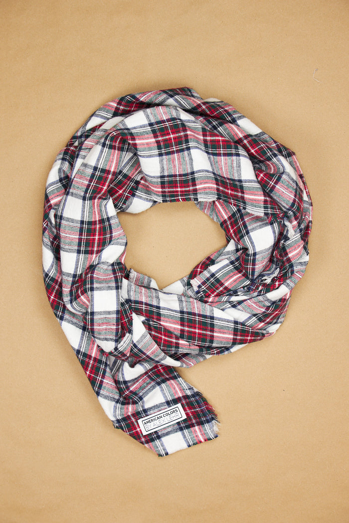 The Alex Lehr Scarf in Leeds Plaid Flannel