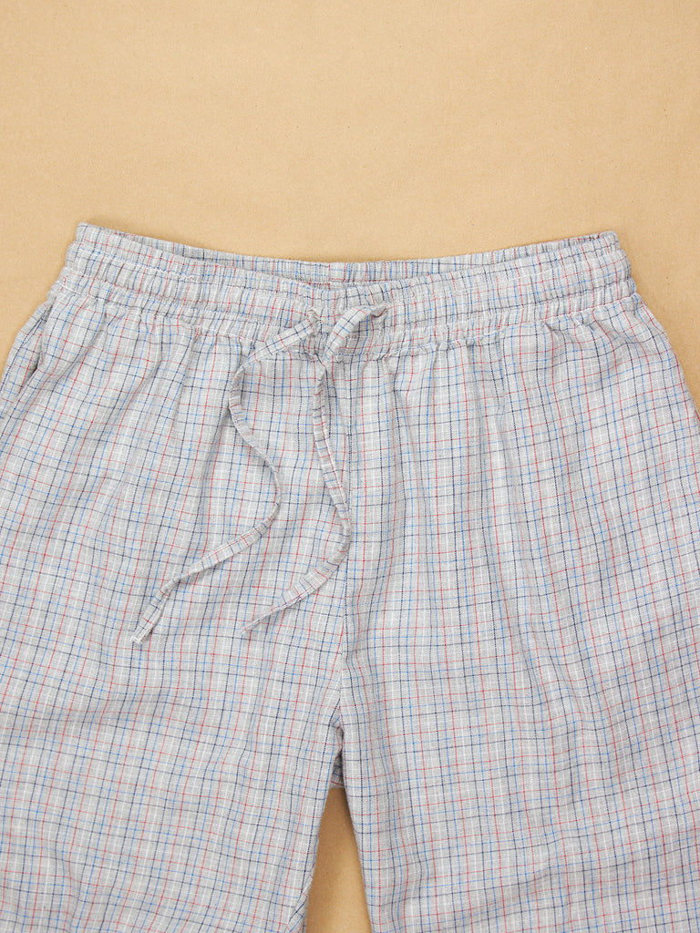 The Pajama Pant Harbor Plaid Cotton
