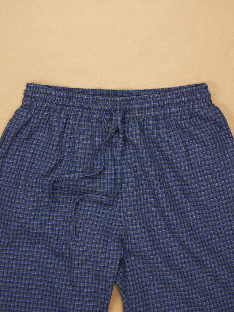 The Pajama Pant Midnight Plaid Cotton
