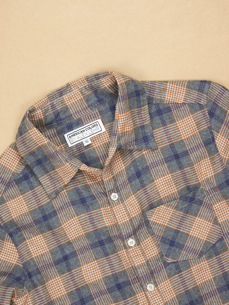 Naomi Shirt Walnut Plaid Flannel