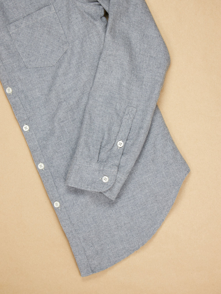 Naomi Shirt Pewter Flannel