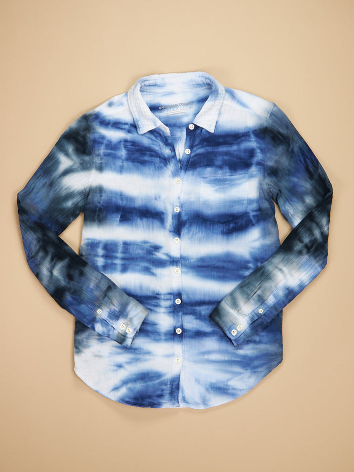 Naomi Shirt Cloud Tie Dye Gauze