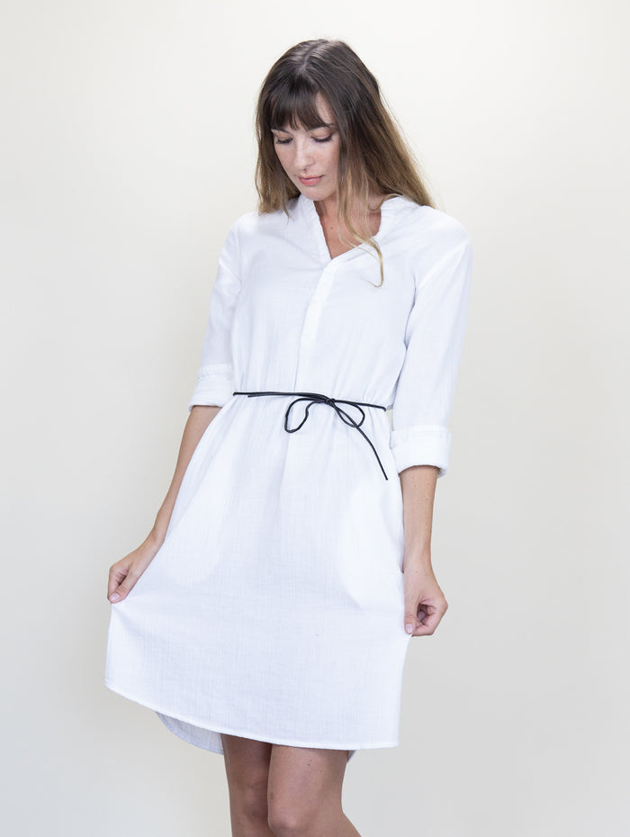 Monet Dress White Gauze