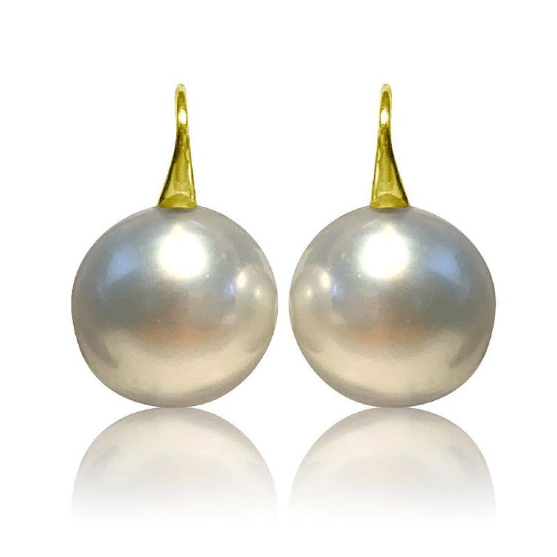 18kt Gold 16mm South Sea Pearls - Masterpiece Jewellery Opal & Gems Sydney Australia | Online Shop