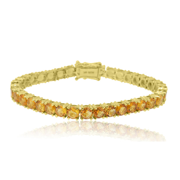 9kt Yellow Gold Citrine Bracelet
