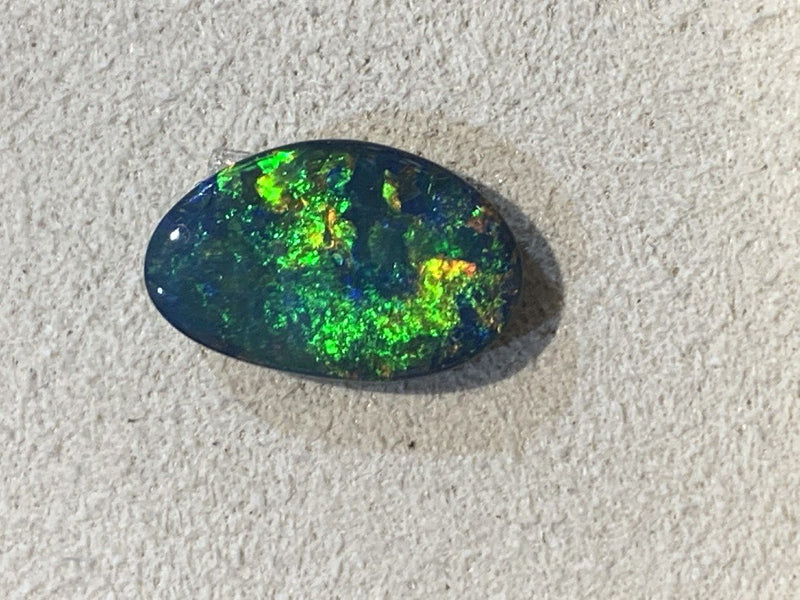 Black Opal 1.52ct - Masterpiece Jewellery Opal & Gems Sydney Australia | Online Shop