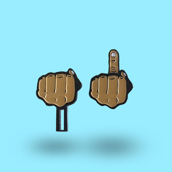 """You're Number ONE!"" Interactive Slider Pin"