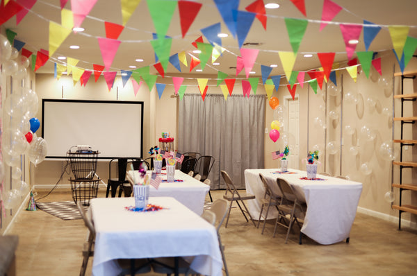 The Venue rental add on - folding table + chairs // $25