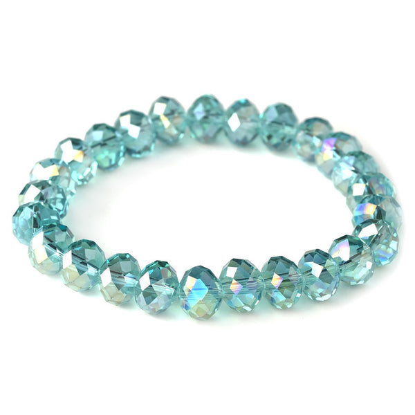 Turquoise 10mm Stretch Bracelet 7613
