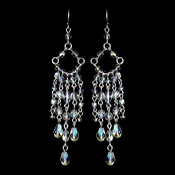 * AB Swarovski Crystal Earrings E 240