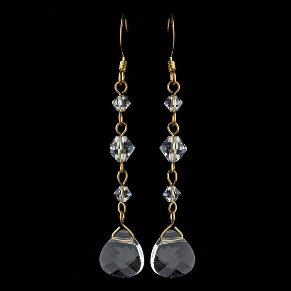 * Earring 8270 Gold Clear