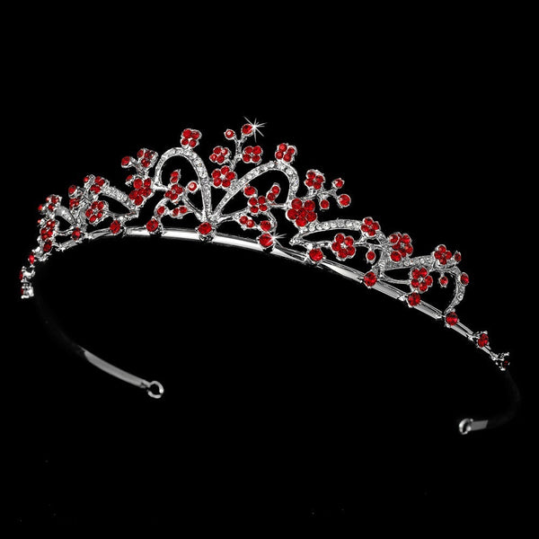 * Red Accented Tiara HP 6101