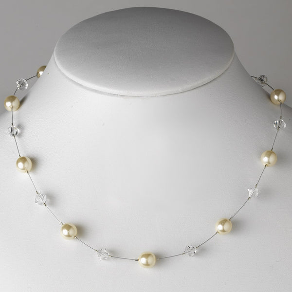 Silver Pearl Necklace 8367