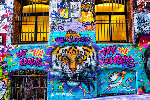 RICHMOND TIGERS 2017 PREMIERSHIP STREETART