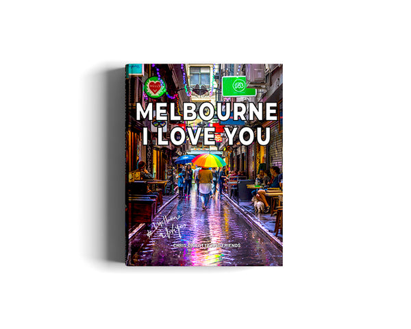 Melbourne I Love You - The Book - International postage