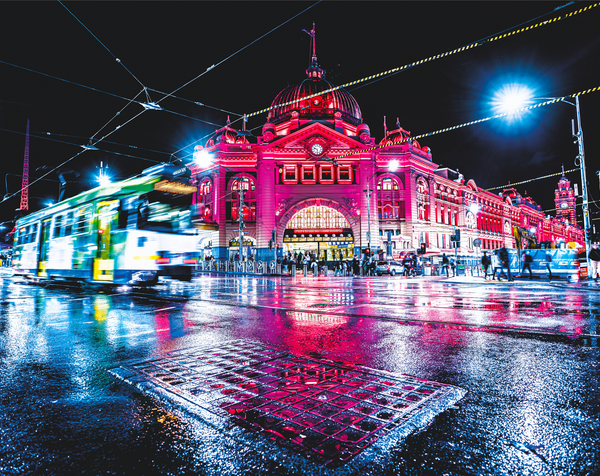 FLINDERS NIGHTS 1000 PIECE JIGSAW PUZZLE - INTERNATIONAL PRE SALE