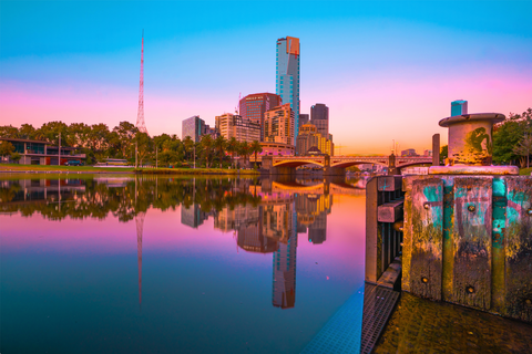 Sunrise on the Yarra - Print