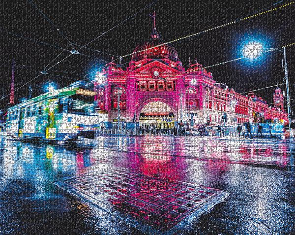 FLINDERS NIGHTS 1000 PIECE JIGSAW PUZZLE - NEW ZEALAND PRE SALE