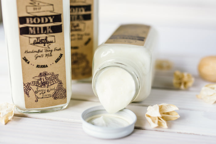 All Natural Goats Milk Body Lotion