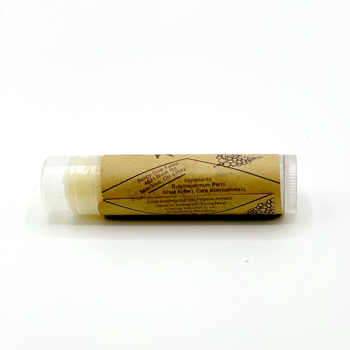 Goat's Milk & Shea Lip Balm- Strawberry