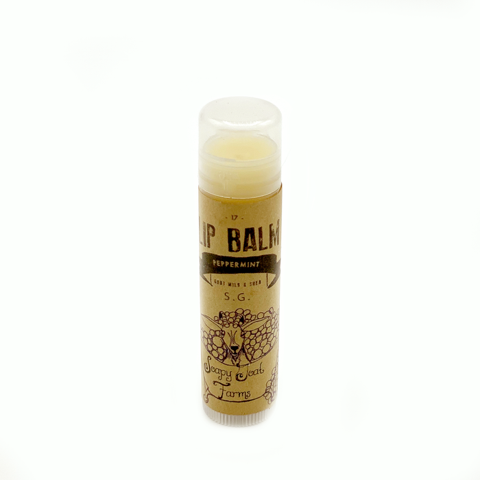 Goat's Milk & Shea Lip Balm- Peppermint