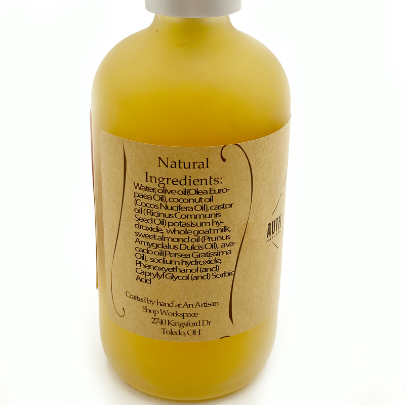 All Natural Goat's Milk Hand Wash