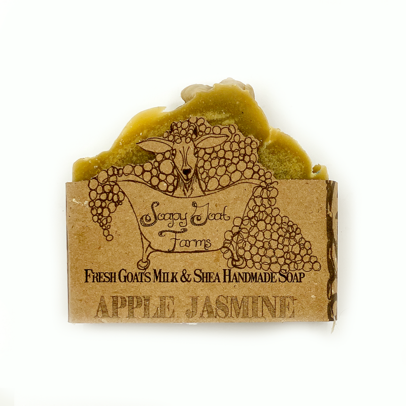 Goats Milk Bar Soap-Apple Jasmine