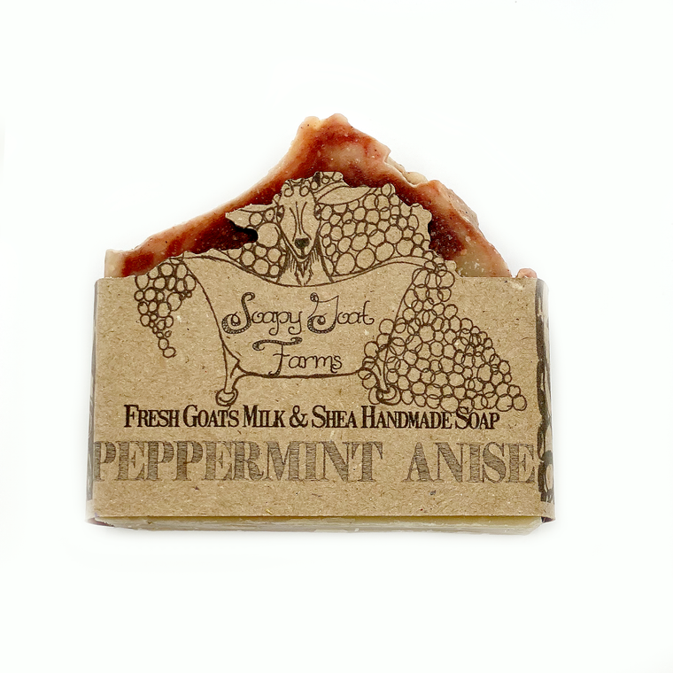 Goats Milk Bar Soap- Peppermint Anise