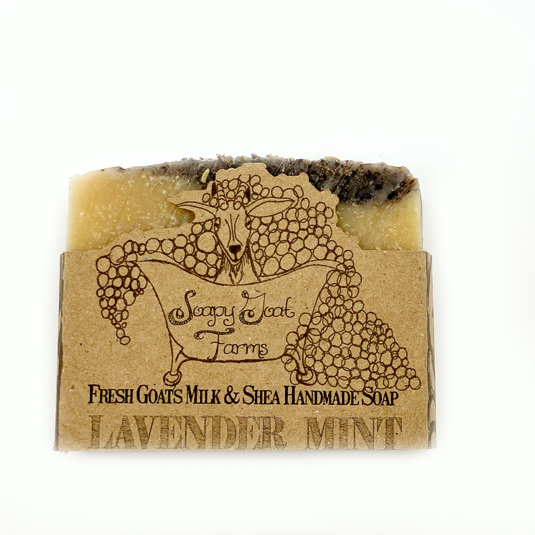 Goats Milk Bar Soap- Lavender Mint