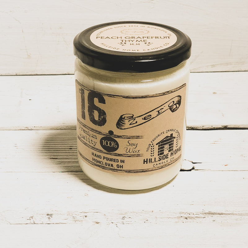 16.ZERO Soy Jar Candle - Spring Collection