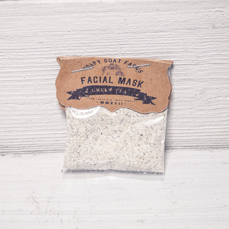 Goat's Milk Face Mask- Green Tea