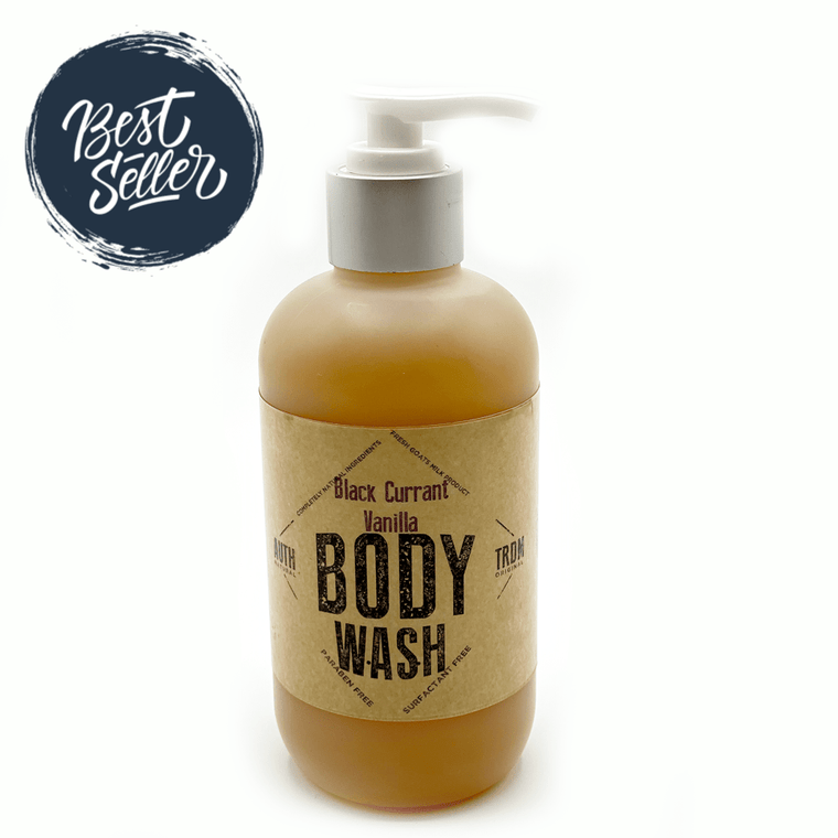 All Natural Goats Milk Body Wash