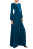 Deep Jade Jersey Maxi Dress